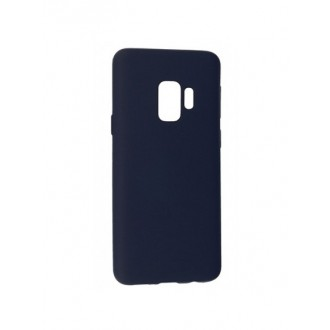 """Tamsiai mėlynas silikoninis dėklas Samsung Galaxy G960 S9 telefonui Mercury Goospery """"Soft Jelly Case"""""""