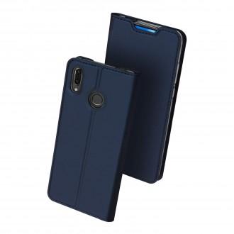 """Tamsiai mėlynos spalvos atverčiamas dėklas Huawei P Smart Z telefonui """"Dux Ducis Skin"""""""