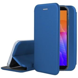 """Tamsiai mėlynos spalvos atverčiamas dėklas Huawei Y5P telefonui """"Book Elegance"""""""