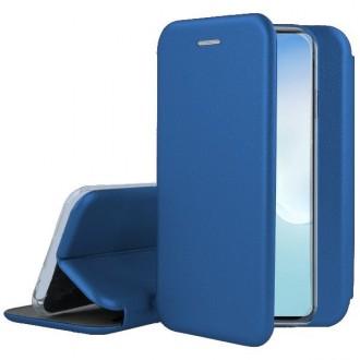 """Tamsiai mėlynos spalvos atverčiamas dėklas Samsung Galaxy Note 10 Lite / A81 telefonui """"Book Elegance"""""""
