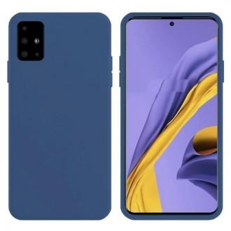 Tamsiai mėlynos spalvos dėklas X-Level Dynamic Samsung Galaxy A715 A71 telefonui