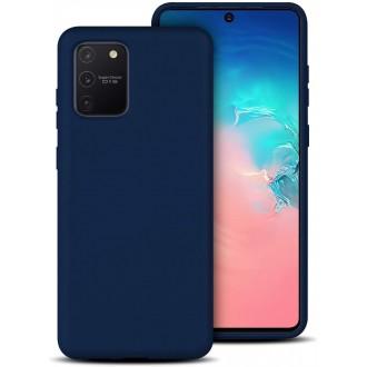 Tamsiai mėlynos spalvos dėklas X-Level Dynamic Samsung Galaxy S10 Lite / A91 telefonui