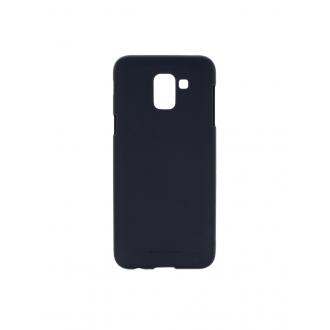"""Tamsiai mėlynas silikoninis dėklas Samsung Galaxy J600 J6 2018  telefonui """"Mercury Soft Feeling"""""""