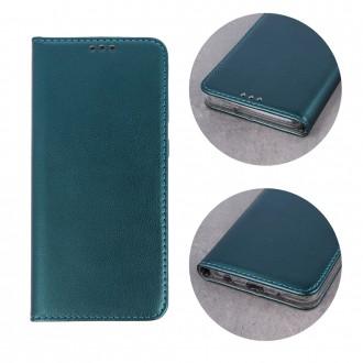"""Tamsiai žalios spalvos atverčiamas dėklas """"Smart Magnetic"""" telefonui Samsung S20 FE /S20Lite/ S20 FE 5G"""