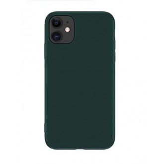 Tamsiai žalios spalvos dėklas X-Level Dynamic Apple iPhone 12 / 12 Pro telefonui