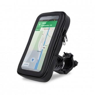 Universalus telefono laikiklis Maxlife MXBH-01, dviračiui, atsparus vandeniui,15x8,5x2,5 cm dydis