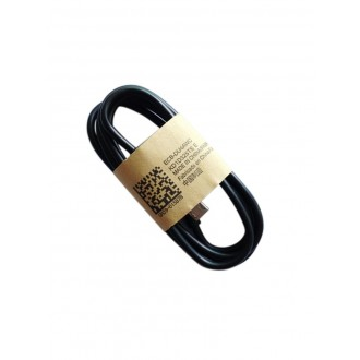 "USB kabelis ""microUSB"" juodas HQ, 1.0m"