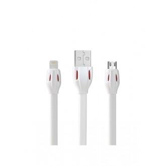 """USB kabelis Remax RC-035a """"Laser"""" """"Type-C"""" baltas"""