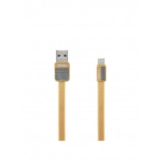 "USB kabelis Remax RC-044i ""Platinum"" Apple ""Lightning"" aukso spalvos"