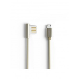 "USB kabelis Remax RC-054m ""Emperor"" ""microUSB"" sidabrinis"