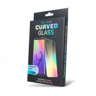 """Apsauginis grūdintas stiklas """"UV Liquid Glass"""" telefonui Huawei P30 PRO (stikliukas klijuojamas naudojant ultravioletinę lempą)"""