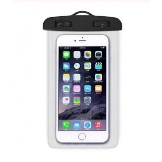 Vandeniui atsparus universalus dėklas telefonui ( 17.5 x 10.5 cm )