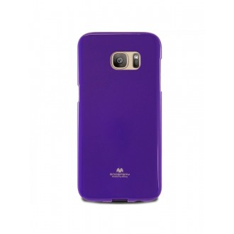 """Violetinis dėklas Mercury Goospery """"Jelly Case"""" Samsung Galaxy G925 S6 Edge telefonui"""