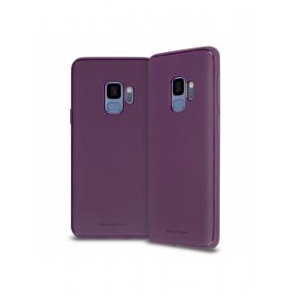"""Violetinis silikoninis dėklas Samsung Galaxy J600 J6 2018 telefonui Mercury Goospery """"Style Lux"""""""
