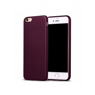 Vyno raudonos spalvos dėklas X-Level Guardian Apple iPhone 6 / 6S telefonui