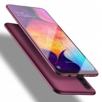 Vyno raudonos spalvos dėklas X-Level Guardian Samsung Galaxy A505 A50 / A507 A50s / A307 A30s telefonui