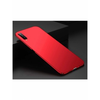 Vyno raudonos spalvos dėklas X-Level Guardian Samsung Galaxy A750 A7 2018 telefonui