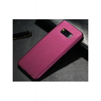 Vyno raudonos spalvos dėklas X-Level Guardian Samsung Galaxy G950 S8 telefonui