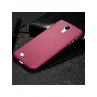 Vyno raudonos spalvos dėklas X-Level Guardian Samsung Galaxy i9500 S4 telefonui