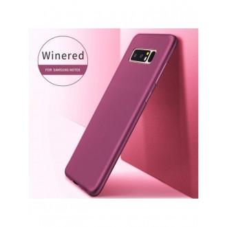 Vyno raudonos spalvos dėklas X-Level Guardian Samsung Galaxy N950 Note 8 telefonui