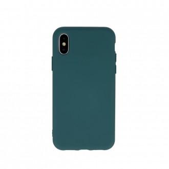 """Tamsiai žalias, Silikoninis dėklas, skirtas """"Samsung A32 4G"""""""