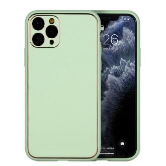 """Žalias dėklas """"Gold Line"""" Apple Iphone XR telefonui"""