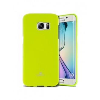 """Žalias silikoninis dėklas Samsung Galaxy G925 S6 Edge telefonui """"Mercury Goospery Jelly Case"""""""