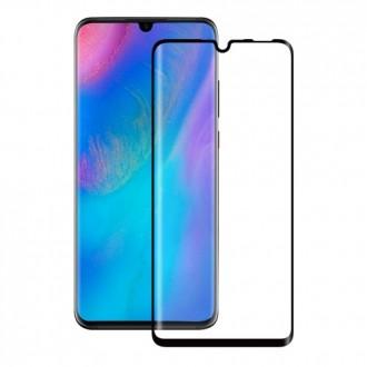 """Juodas apsauginis grūdintas stiklas Huawei P30 Lite telefonui """"MyScreen Lite Edge Full Glue"""""""