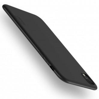 Juodos spalvos dėklas X-Level Guardian Apple iPhone XR telefonui