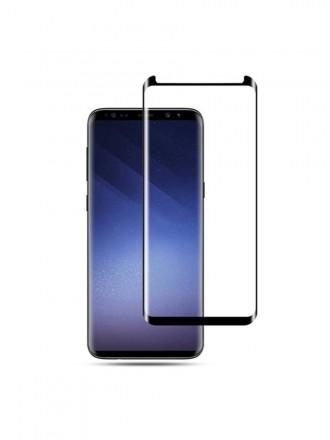 LCD apsauginis stikliukas 9H 5D Samsung G965 S9 Plus juodas
