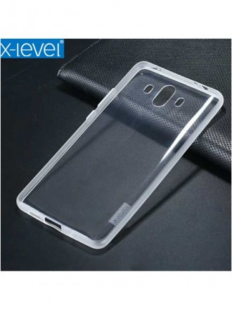 """Skaidrus dėklas Huawei Mate 10 telefonui """"X-Level Antislip"""""""