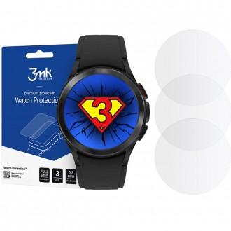 """Lankstus hibridinis stiklas laikrodžiui Galaxy Watch 4 (42MMK) """"3MK FG"""" 3vnt"""