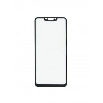 """5D Juodas apsauginis grūdintas stiklas Huawei Mate 20 Lite telefonui """"Full Glue"""""""