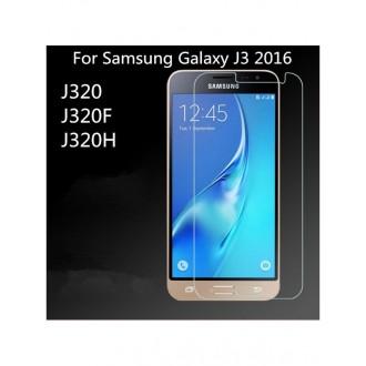 """Apsauginis grūdintas stiklas Samsung Galaxy J3 2016 telefonui """"AdP"""