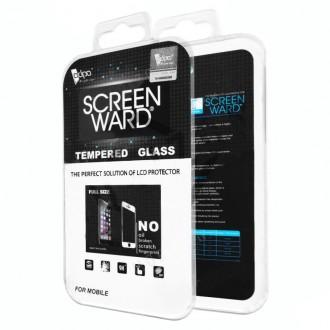Apsauginis grūdintas stiklas ''Adpo'' juodais kraštais lenktas telefonui Samsung G973 S10