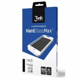 Apsauginis stiklas juodais kraštais 3MK ''Hard Glass Max Lite'' telefonui Samsung M11 / A11