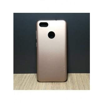 Auksinės spalvos dėklas X-Level Guardian Huawei P9 Lite Mini telefonui