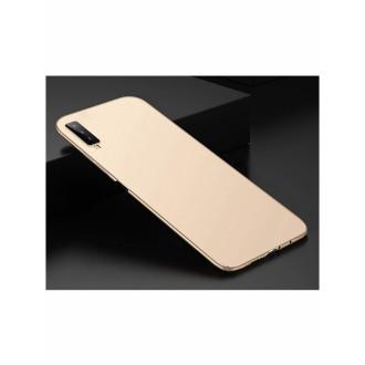 Auksinės spalvos dėklas X-Level Guardian Samsung Galaxy A750 A7 2018 telefonui