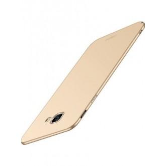 Auksinės spalvos dėklas X-Level Guardian Samsung Galaxy J415 J4 Plus 2018 telefonui