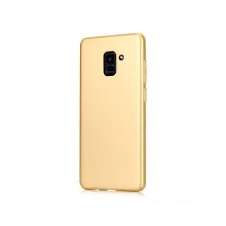 Auksinės spalvos dėklas X-Level Guardian Samsung Galaxy J600 J6 2018 telefonui