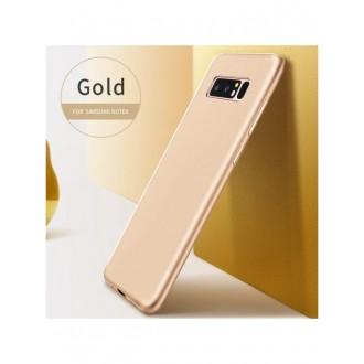 Auksinės spalvos dėklas X-Level Guardian Samsung Galaxy N950 Note 8 telefonui