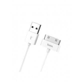 Baltas USB kabelis HOCO X1 iPhone Pin 30 2m