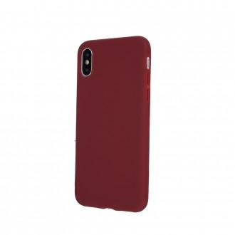 Bordo spalvos silikoninis dėklas ''Rubber TPU'' telefonui Samsung S21 Plus