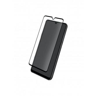 Juodas 3D apsauginis grūdintas stiklas Huawei Mate 20 telefonui