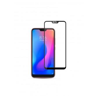 Juodas apsauginis grūdintas stiklas Xiaomi Mi8 Lite telefonui