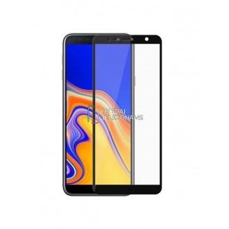 """Juodas apsauginis stikliukas """"5D Full Glue"""" Samsung Samsung J415 J4 Plus 2018"""
