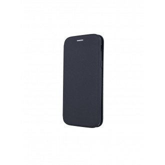 """Juodas atverčiamas dėklas Samsung Galaxy J600 J6 2018 telefonui """"Smart Viva"""""""