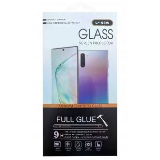 Apsauginis grūdintas stiklas ''5D Cold Carving'' telefonui Xiaomi Redmi Note 9  (lenktas/juodas)