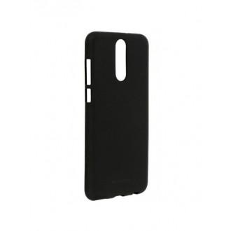 """Juodas silikoninis dėklas Huawei Mate 10 Lite telefonui """"Soft TPU"""""""