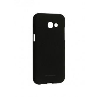 "Juodas silikoninis dėklas Samsung Galaxy A520 A5 2017  telefonui ""Mercury Soft Feeling"""